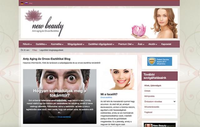 ee945236d9 A newbeauty.hu vállalkozás azzal a kéréssel fordult hozzánk, hogy a néhány  éves, a Joomla 2.5-ös rendszerén futó weboldalukat frissítsük a legújabb  3-as ...