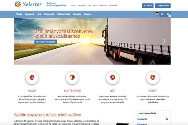 Joomla 2.5 frissítés és Virtuemart webshop fejlesztés a Selexped Kft. részére