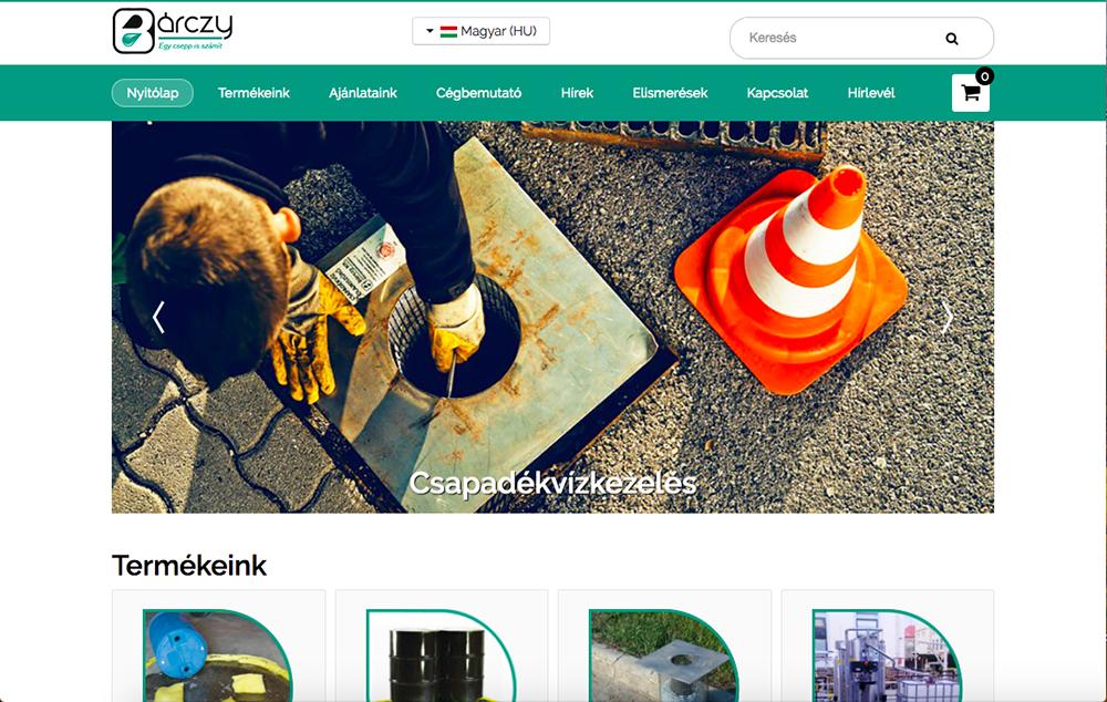 6332dddf10 Joomla 2.5 és Joomshopping webáruház frissítés a Bárczy Kft. számára