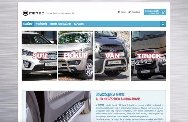 Új Virtuemart webáruház készítés a Tuning Centrum Sportservice Kft. számára