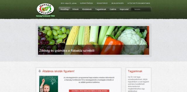 A Hanság-TÉSZ új weboldala